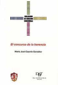 el concurso de la herencia-maria jose (eds.) cazorla gonzalez-9788429014594