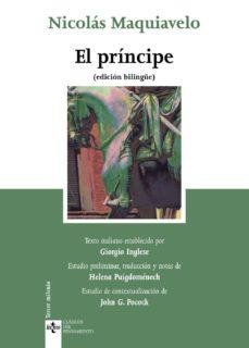 el principe (ed. bilingüe)-nicolas maquiavelo-9788430951994