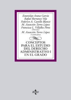 Padella.mx Conceptos Para El Estudio Del Derecho Administrativo I En El Grad O Image
