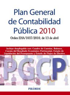 Noticiastoday.es Plan General De Contabilidad Publica (Pgcp) 2010: Orden Eha/1037/ 2010, De 13 De Abril Image
