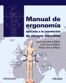 Ironbikepuglia.it Manual De Ergonomia Aplicada A La Prevencion De Riesgos Laborales Image
