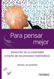 eBooks pdf: PARA PENSAR MEJOR