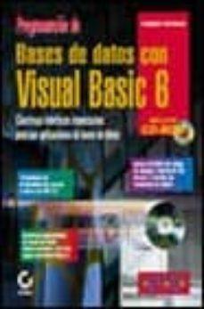 Valentifaineros20015.es Programacion De Bases De Datos Con Visual Basic 6 (Incluye Cd) Image