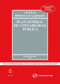 plan general de contabilidad publica  (2ª ed.)-ricardo alonso garcia-9788447038794
