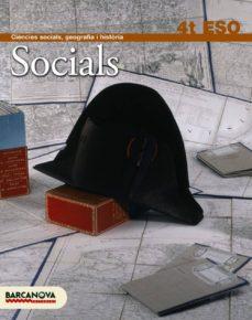 Cdaea.es Socials 4 Eso. Llibre De L Alumne Educación Secundaria Obligatoria - Segundo Ciclo - 4º Image