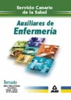 Debatecd.mx Servicio Canario De La Salud. Auxiliares De Enfermeria: Temario Image