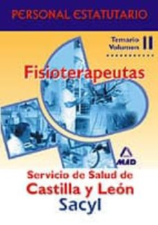 Costosdelaimpunidad.mx Fisioterapeutas: Servicio De Salud De Castillo Y Leon. Temario Pa Rteespecifica. Vol Ii Personal Estatutario Image