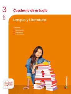 Cdaea.es Lengua Y Literatura 3º Eso Cuaderno Estudio Vers 2 Ed 2015 Image