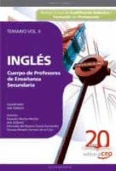 Iguanabus.es Cuerpo De Profesores De Enseñanza Secundaria. Ingles. Temario. Vo L. Ii Image