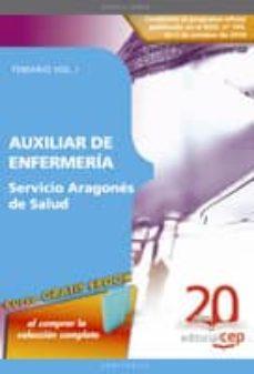 Viamistica.es Auxiliar De Enfermeria Servicio Aragones De Salud: Temario Vol. I Image