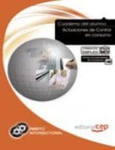 Trailab.it Cuaderno Del Alumno Actuaciones De Control En Consumo. Formación Para El Empleo. Image