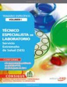 Geekmag.es Tecnico Especialista De Laboratorio. Servicio Extremeño De Salud. Temario Vol.1 Image