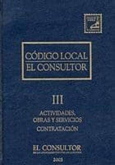 Inmaswan.es Codigo Local: Actividades, Obras Y Servicios (T. Iii) Image