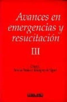 Libros para descargar en ipod nano AVANCES EN EMERGENCIA Y RESUCITACION III FB2 PDB CHM