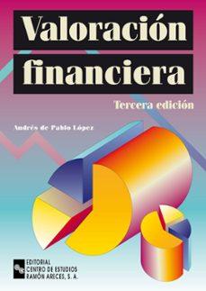 valoracion financiera (3ª ed.)-andres de pablo lopez-9788480045094