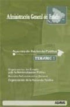 Inmaswan.es Agentes De La Hacienda Publica Administracion General Del Estado Temario 1 Image