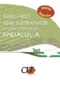 Cdaea.es Auxiliares Administrativos De Corporaciones Locales De Andalucia. Test Image