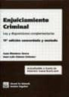 Carreracentenariometro.es Enjuiciamiento Criminal (11ª Ed.) Image