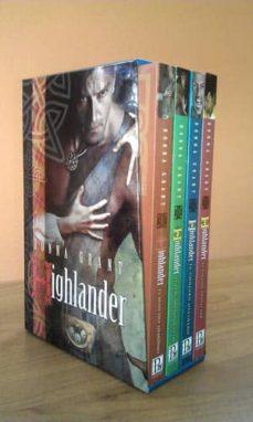 Bressoamisuradi.it Estuche Highlander (Contiene: El Beso Del Demonio; El Pergamino O Culto; El Conjuro Olvidado; El Escudo Protector) Image