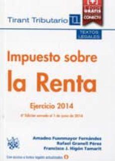 Javiercoterillo.es Impuesto Sobre La Renta Ejercicio 2014 Image