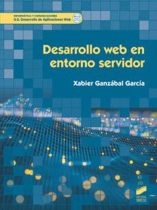 Descargar DESARROLLO WEB EN ENTORNO SERVIDOR gratis pdf - leer online