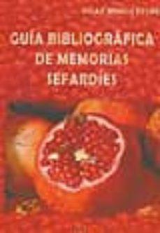 guia bibliografica de memorias sefardies-pilar romeu ferre-9788493567194