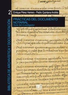 Noticiastoday.es Practicas Del Documento Notarial: Guia Del Investigador Image