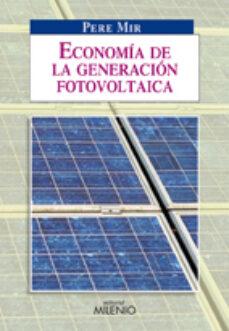economia de la generacion fotovoltaica-pere mir-9788497432894