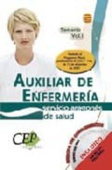 Inmaswan.es Auxiliar De Enfermeria: Servicio Aragones De Salud Oposiciones Vo L. I Image