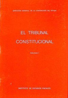 EL TRIBUNAL CONSTITUCIONAL I - VVAA | Adahalicante.org