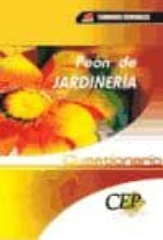 PEON DE JARDINERIA. CUESTIONARIO