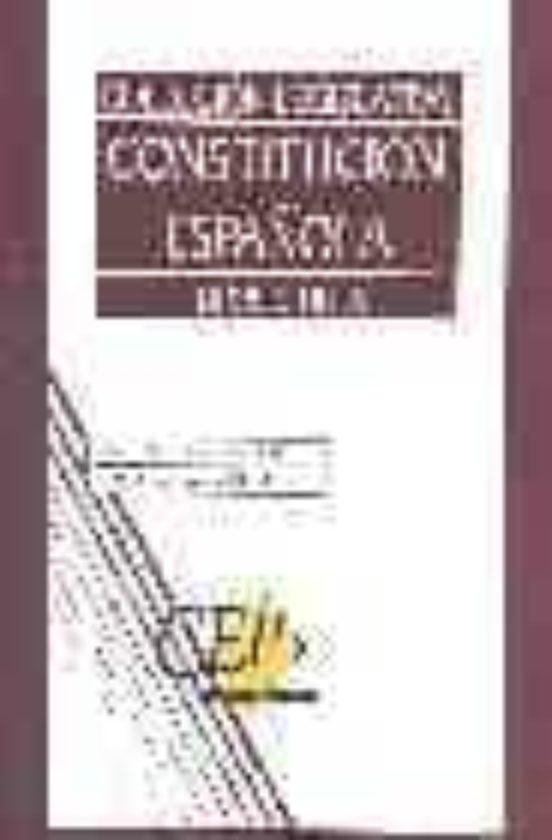 CONSTITUCION ESPAÑOLA: OPOSICIONES