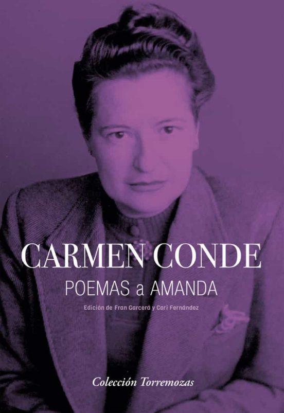 Poemas a Amanda, de Carmen Conde - Libros para leer el Día de la Poesía