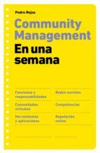 community management en una semana (ebook)-pedro rojas-9788498751604
