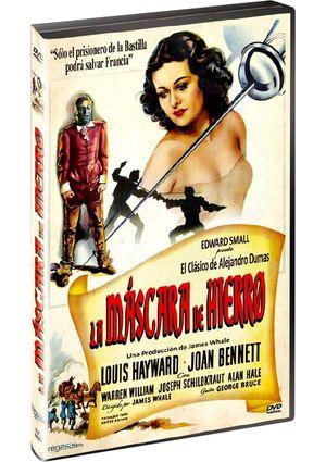 la mascara de hierro (dvd)-8436532910685