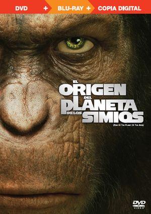 el origen del planeta de los simios (con copia digital) (triple p-8420266958013
