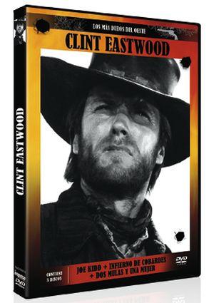 clint eastwood, los mas duros del oeste (dvd)-8436022968707