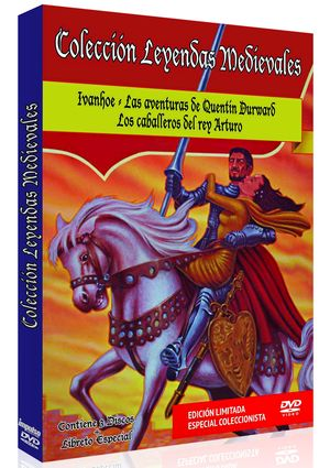 coleccion leyendas medievales (dvd)-8436022968998