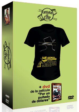 por un puñado de dolares (dvd + camiseta)-8436022969001