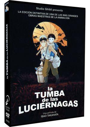 la tumba de las luciernagas (dvd)-8414533085250