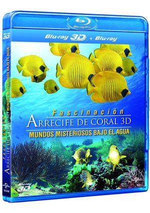 arrecife de coral: mundos misteriosos bajo las aguas (combo blu-r-8414906553485