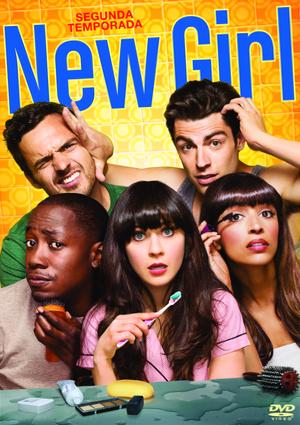 new girl: temporada 2 (dvd)-8420266967473