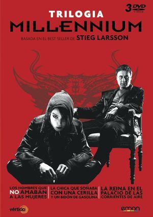 millennium. trilogia (dvd)+poster-8435153739965