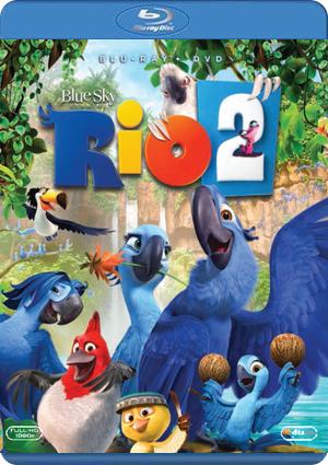 rio 2 (blu-ray+dvd)-8420266970985