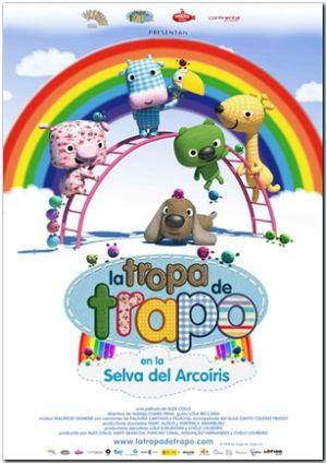 la tropa de trapo en la selva del arcoiris (dvd)-8436540905673