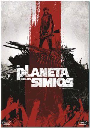 el planeta de los simios saga completa (blu-ray)-8420266972781