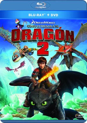 como entrenar a tu dragon 2 (blu-ray+dvd)-8420266971029