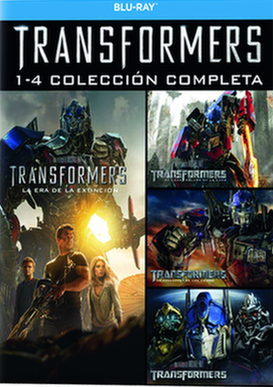 transformers: complete collection pack 1-4 (blu-ray)-8414906209375