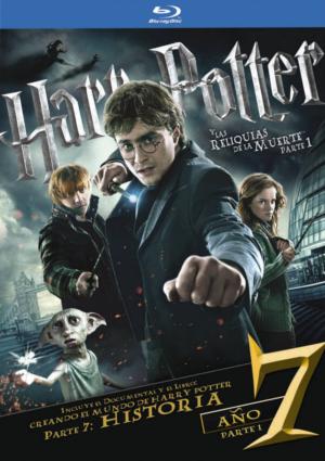 harry potter y las reliquias de la muerte parte 1 (blu-ray)+libro-8420266002594
