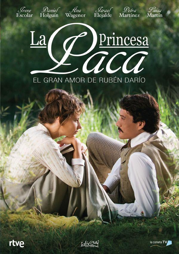 la princesa paca. el gran amor de ruben dario (dvd)-8421394549142